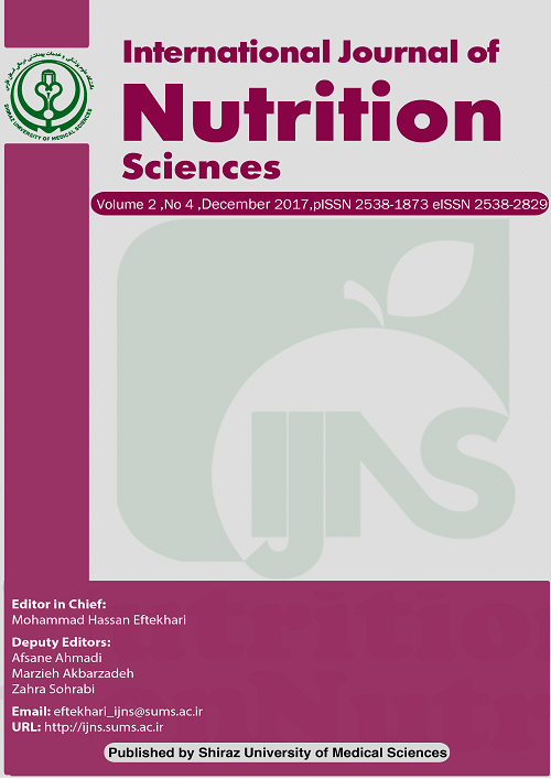 International Journal of Nutrition Sciences